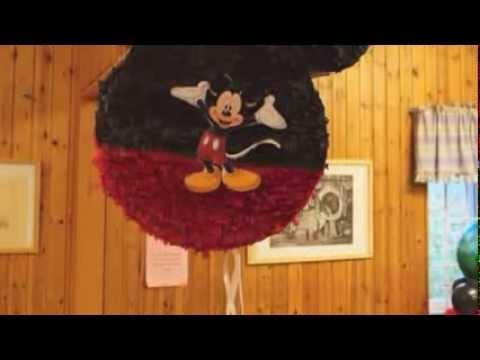 pinata de mickey mouse