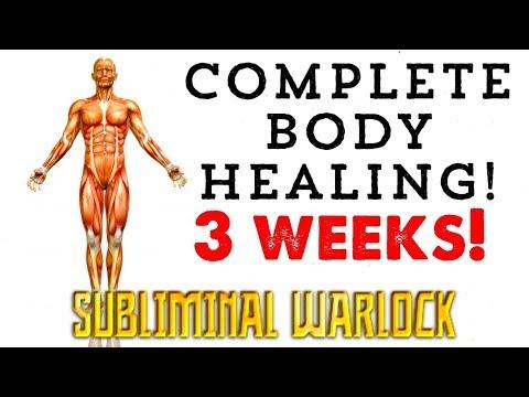 GET FULL COMPLETE BODY HEALING IN 3 WEEKS! BIOKINESIS  SUBLIMINAL AFFIRMATIONS WARLOCK