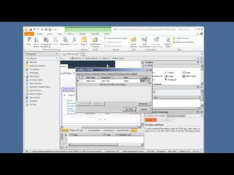 SharePoint Designer 2010 - Really Easy Dashboard
