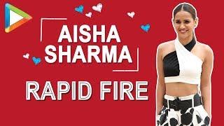 Sholay ya DDLJ - Aisha Sharma makes the TOUGH choice | RAPID FIRE | John | Manoj