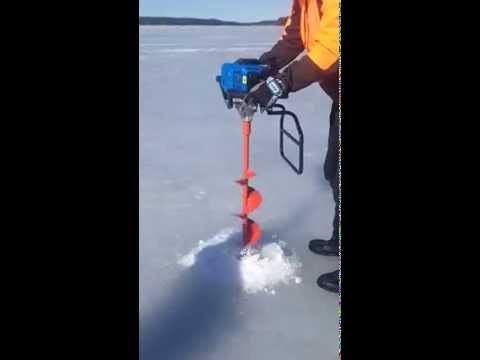 CVK Hand-arm Vibration measurement- Ice Drilling