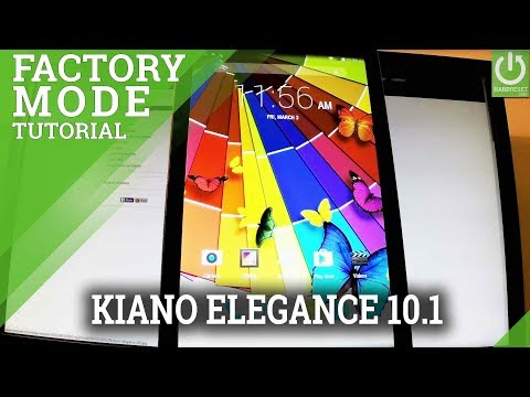 How to Enter Factory Mode KIANO Elegance 10.1 - Test Mode