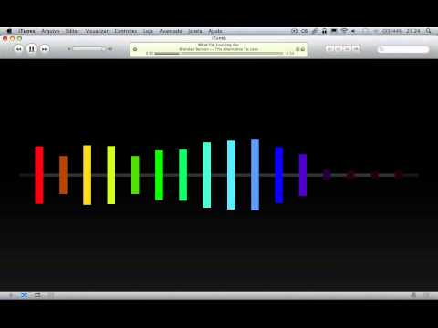 Simple - iTunes Visualizer demonstration