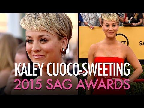 Kaley Cuoco - SAG Awards 2015  | Jamie Greenberg Makeup
