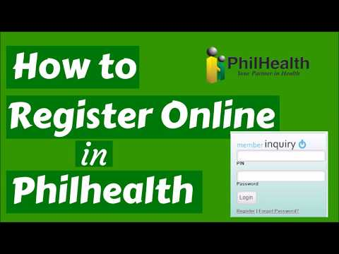 How to register your PhilHealth Number for Online Access