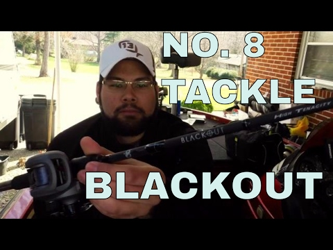 No. 8 Tackle BLACKOUT Rod Review