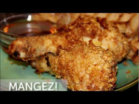 How to Cook Cornflake Chicken Drumstick & Waffle Brunch Recipe with Le Coucou Harmony