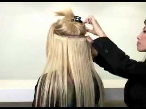 How to put on Extend-it Clip-in Hair Extensions