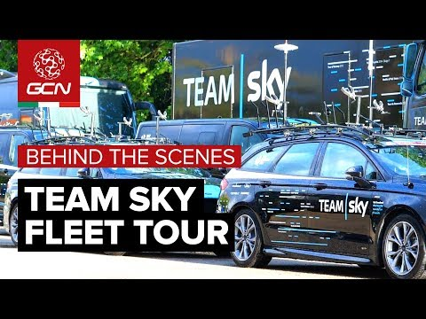 Team Sky Fleet Tour | Behind The Scenes At The Giro d'Italia