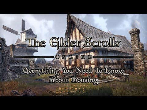 Housing in Elder Scrolls Online: Everything You Need to Know