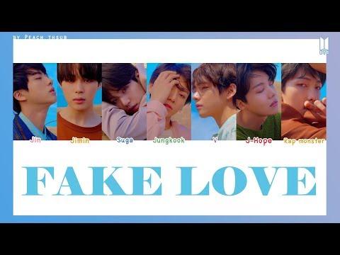 Download [COLOR CODED/THAISUB] BTS - Fake Love #พีชซับไทย