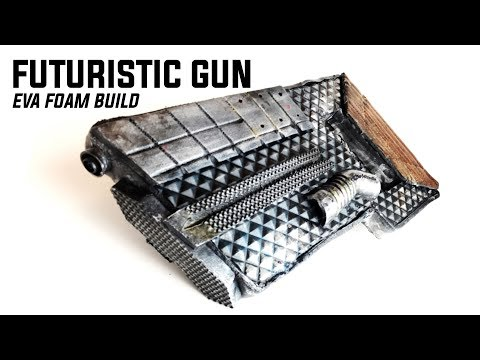 Budget Prop Build SciFi Gun: Cheap & EZ EVA Pew Pew