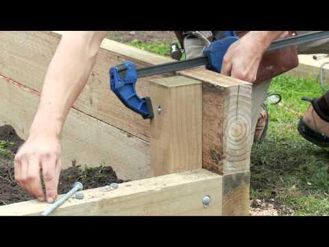How to Build a Vegetable Garden Box