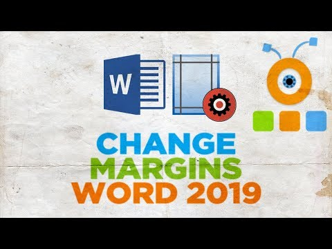 How to Change Margins in Word 2019   How to Adjust Page Settings in Word 2019