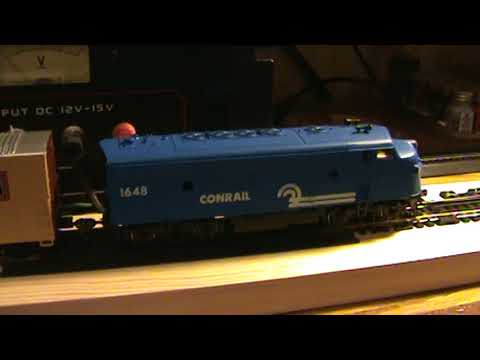 My homemade HO scale track cleaning car