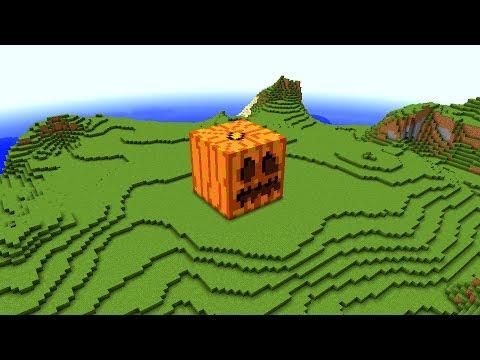 Minecraft - Giant Jack o'Lantern explodes