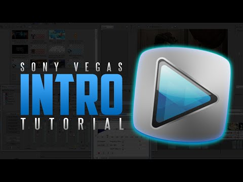 How to Make an Intro for YouTube Videos with Sony Vegas Pro 14/15! 2D Intro Tutorial! (2018)