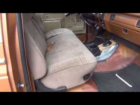 Ford F150 Bench Seat Swap