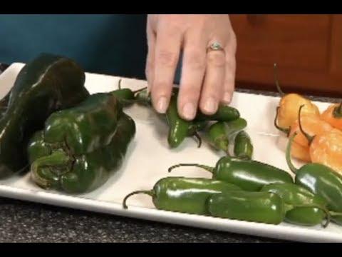How to Cut Hot Peppers - Jalapeno, Poblano, Serrano, Habanero