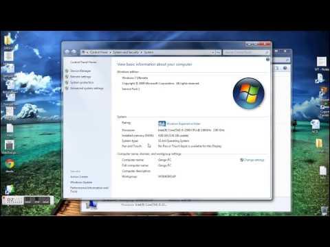 How to check Windows Configuration type 32 bit/64bit