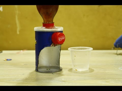 Make Coca Cola machine with Air - Awesome Project