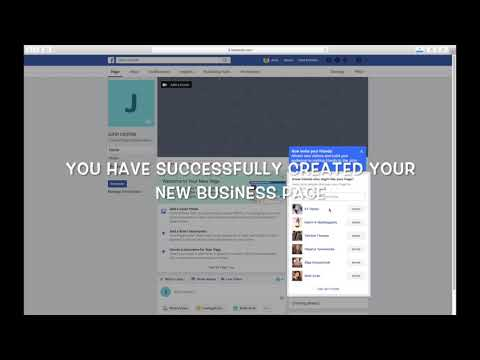 HOW TO CREATE A BUSINESS OR BRAND PAGE ON FACEBOOK (UPDATED)