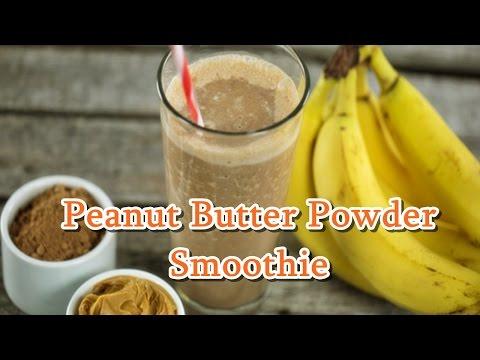 Peanut Butter Powder Smoothie