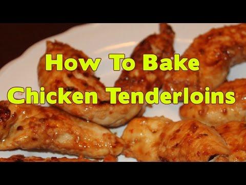 How To Bake Chicken Tenderloins - Watch Bake Chicken Tenders