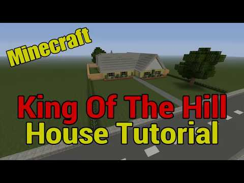 Minecraft King Of The Hill House Tutorial