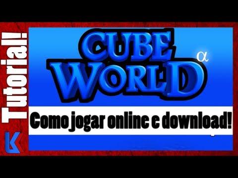 Como jogar Online e Download! (Cube World Alpha)