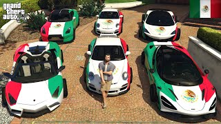 GTA 5 - Stealing MEXICO Luxury Cars with Michael! (Real Life Cars #104)