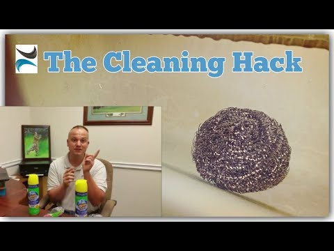 Cool Cleaning Hack for Soap Scum!!
