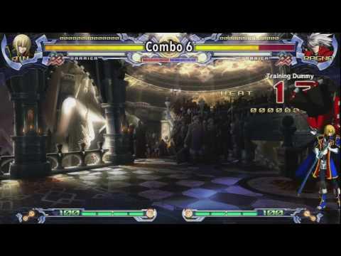 Jin Combo's BlazBlue HD 720p
