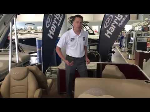 2015 Harris Pontoons Cruiser 220 Pontoon For Sale at MarineMax Rogers
