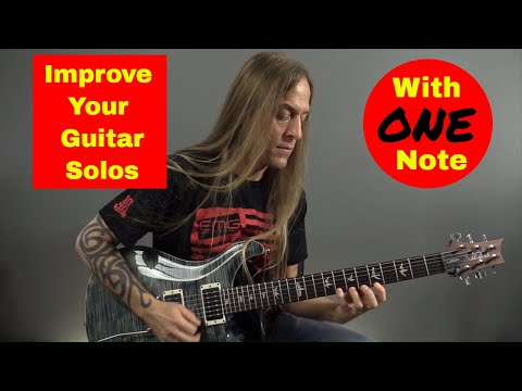 Improve Your Guitar Solos with ONE Note- Steve Stine Guitar Lesson