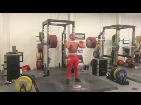 Sonny Webster weightlifting Training video 11/10/14