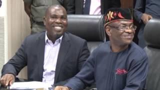 NDDC MD RECEIVES NIGER DELTA MINISTER