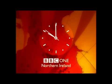 BBC ONE NI - Continuity into BBC News - 2200, 23/10/12 Final analogue night.
