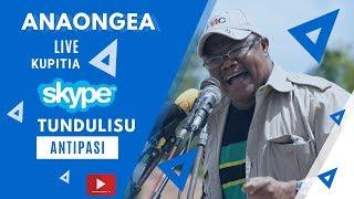 #LIVE | Tundu Lissu aishangaa Serikali kupitia watendaji wake kwa matamko wanayoyatoa