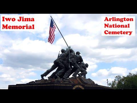 Iwo Jima Memorial / US Marine Corps War Memorial. Arlington National Cemetery, DC