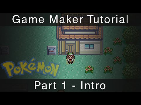 Game Maker Tutorial - Pokémon Part 1 - Intro
