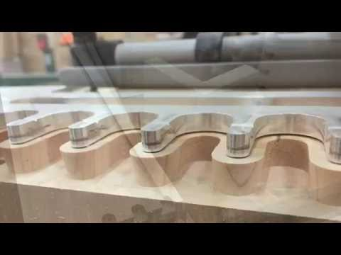 Cutting Half Blind Dovetails Solid Cherry Drawers Porter Cable Jig