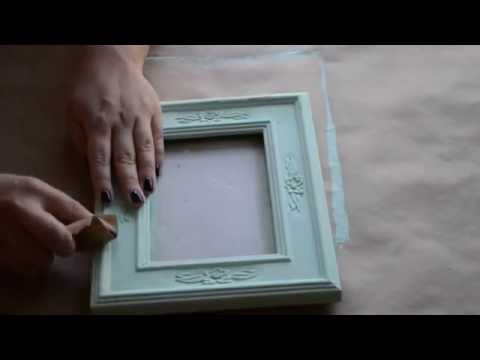 Vintage /Distressed Frame Tutorial