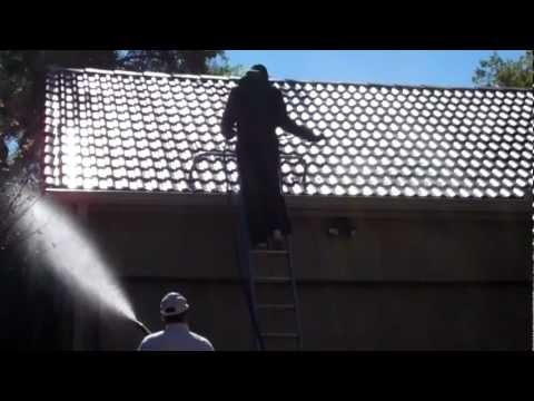 .Tile Roof Cleaned by Katy Memorial Roof Cleaning & Power Washing in Houston Texas part 3-3