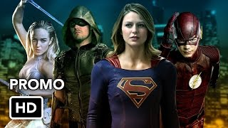 The Superheroes of The CW Promo (HD)
