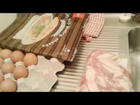 Cheap homemade Bacon and egg pie