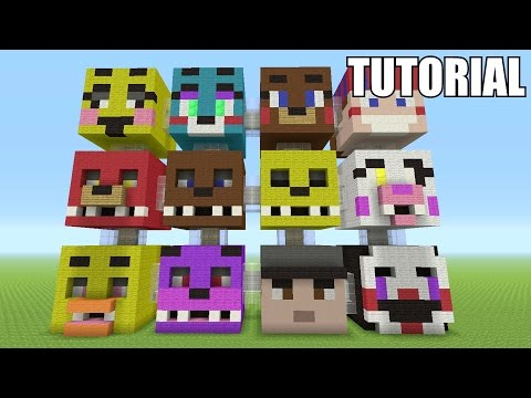 Minecraft Tutorial: How To Make A FIVE NIGHTS AT FREDDY'S!! Survival House/Apartment PART 2(ASH#45)