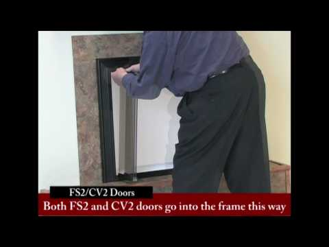 Bifold Fireplace Glass Doors - Tracked vs Trackless (Free Swing)
