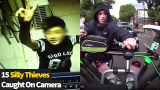 The Dumbest Thieves Caught on Camera | Criminals Caught Out