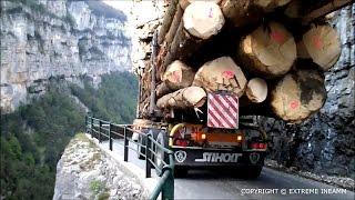 PASSAGE EXTRÊME Gorge de la Bournes Transport Achard MÉTIER DE L'EXTRÊME